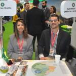 Elizangela Fernandes e Bruno Lima, da Infinitas Travel