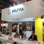 Estande da Bolívia