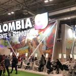 Estande da Colômbia