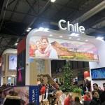 Estande do Chile
