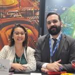 Fabio Zelenski e Cintia Hayashi, do Visite São Paulo