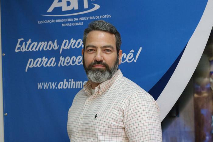 Guilherme Sanson, presidente da Associação Brasileira da Indústria dos Hotéis de Minas Gerais Abih-MG