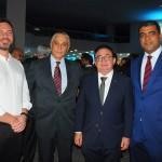 Gustavo Binardi, da Reed, Fernando Brandão, da Salvador Destination, Manoel Linhares, da ABIH, e Luciano Lopes, da ABIH BA