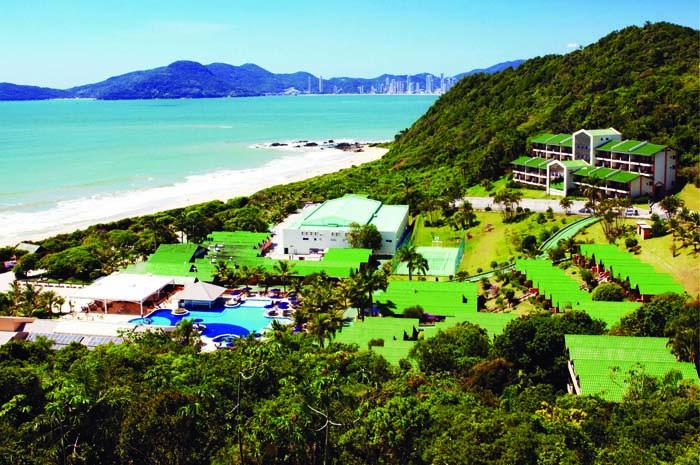 Os clientes poderão aproveitar toda a infraestrutura das depedências do resort sem a necessidade de se hospedar