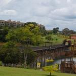 Maior ponte de madeira do Brasil e tirolesa