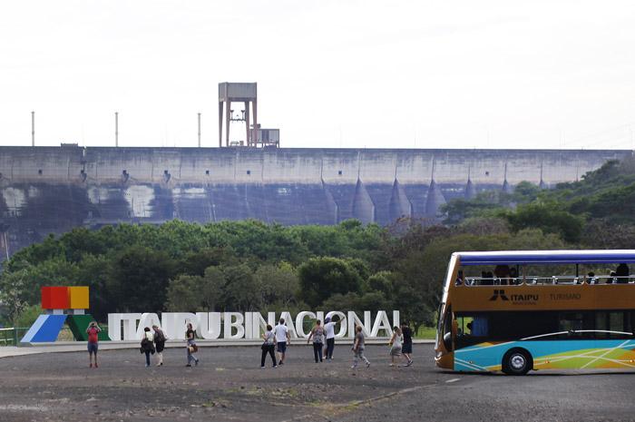 Mirante do Vertedouro, em Itaipu, passará por reformas