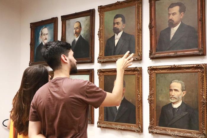 Número de visitantes do Palácio Rio Branco, em Salvador, cresceu (Foto: Tatiana Azeviche)