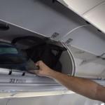 O A321 apresenta bagageiros com espaço superior aos outros modelos