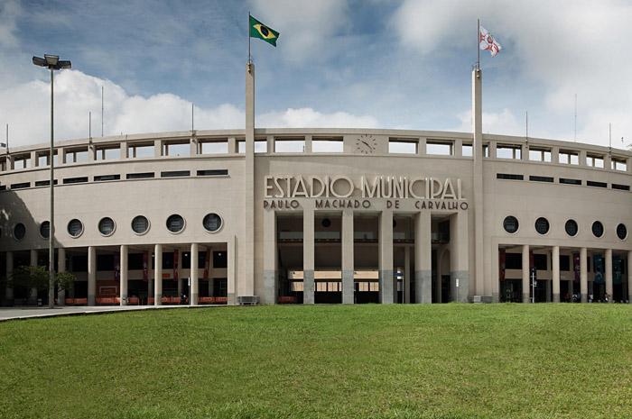 O Estádio do Pacaembú, localizado na capital paulista, abriga o Museu do Futebol (Foto: Secretaria da Cultura de São Paulo)