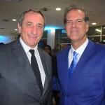 Olivier Ferraton, CEO da GL Events, e Antonio Barretto, da Secult Salvador