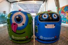 Robôs são os novos membros da equipe de limpeza do Aeroporto de Brasília