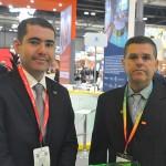 Paulo Neves e Marcos Mendes, da Embratur
