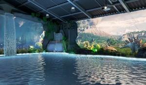 Brotas Eco Resort inaugura primeira piscina de projeção mapeada do Brasil