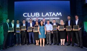 Club Latam premia principais parceiros de 2019; veja fotos