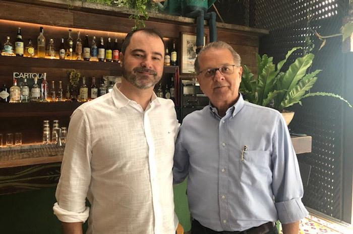 Raffaele Cecere, presidente do Grupo R1 e Orlando de Souza, presidente da Fohb