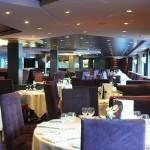 Restaurante principal do jantar do navio, o Quattro Venti