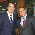 Ricardo Nobre e Manoel Neto, da Secult Salvador