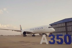 South African Airways realiza primeiro voo comercial com Airbus A350