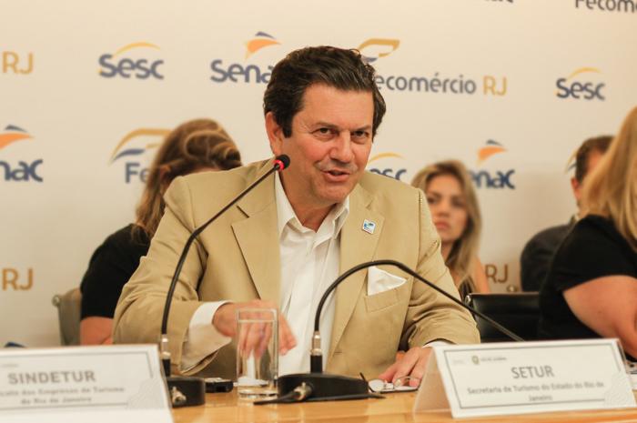 Secretário de Turismo do Rio de Janeiro, Otavio Leite | (Foto: Flávio Cabral)