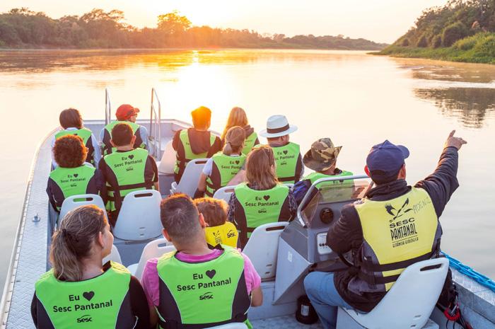 O Mtur reconheceu o Sesc pelo desenvolvimento do turismo brasileiro de forma inclusiva e acessível