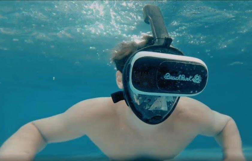 Submerso é a segunda atração de realidade virtual do Beach Park
