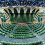 Teatro tem capacidade para 1260 pessoas