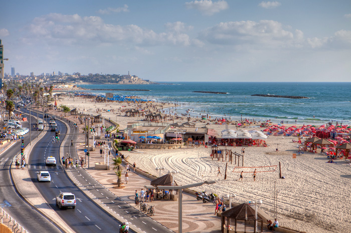 Entre os destinos do país, Tel Aviv é destaque