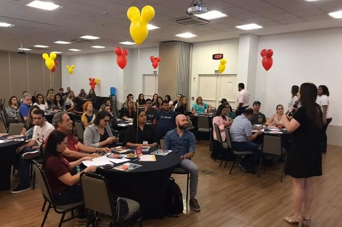 RCA promove Disney Day com agentes de Belo Horizonte