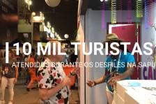 Abav-RJ realiza operação de Carnaval na Marquês de Sapucaí; vídeo