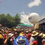 A cidade de Bezerros possui 60 mil habitantes, e estima receber 200 mil pessoas durante o Carnaval
