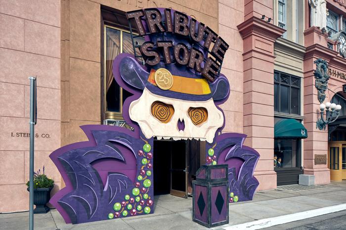 A loja-tributo do Mardi Gras é um atrativo imersivo, que destaca um lado sombrio e bonito das tradições