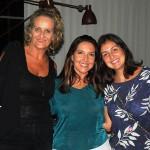 Adriana Machion, do Meliá, com Flavia Toledo e Adriana Vils, da Del Bianco