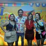 Ana Accioly e Rodrigo Novaes, da secretaria de Turismo de Pernambuco; ao lado de Ana Paula Vilaça e Bárbara Franco, da secretaria de Turismo de Recife