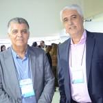 Antonio Carlos Abrantes, da CET, e Paulo Octavio de Almeida, da Reed Exhibitions Alcantara Machado
