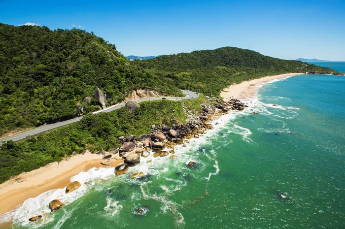 As praias são um dos principais atrativos do destino