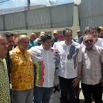 Autoridades do Estado estiveram presentes na sede prefeitura de Bezerros, neste domingo (23)