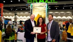 Embratur volta à Travel Adventure Show (Los Angeles) após três anos e recebe prêmio