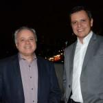 Carlos Prado, da Tour House, e Carlos Barbosa, do Turismo de Aruba