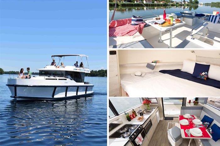 Com embarcações menores, a LeBoat traz o mesmo conceito do motorhome