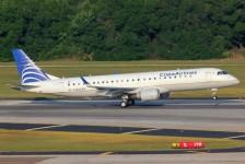 Efeito MAX: Copa adia retirada de Embraer E190s para o fim de 2021