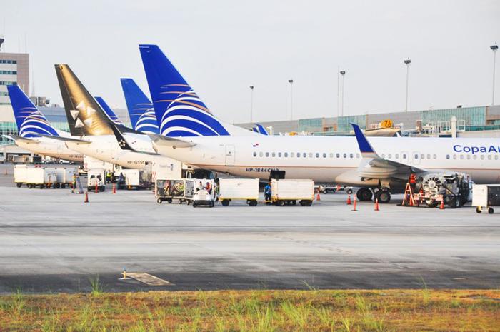 O Panamá anunciou restrições de entrada no país mas o transito de conexão no aeroporto segue normal