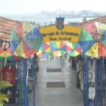 O Mercado de Artesanato Silvia Pontual fica localizado no Alto da Sé