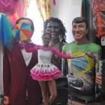 Os bonecos de Olinda são uma das principais caracteristicas do Carnaval de Pernambuco