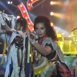 Bailarinos, circenses e músicos fizeram parte do espetáculo de abertura do Carnaval