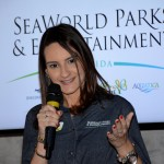 Daniela Bergamini, do SeaWorld