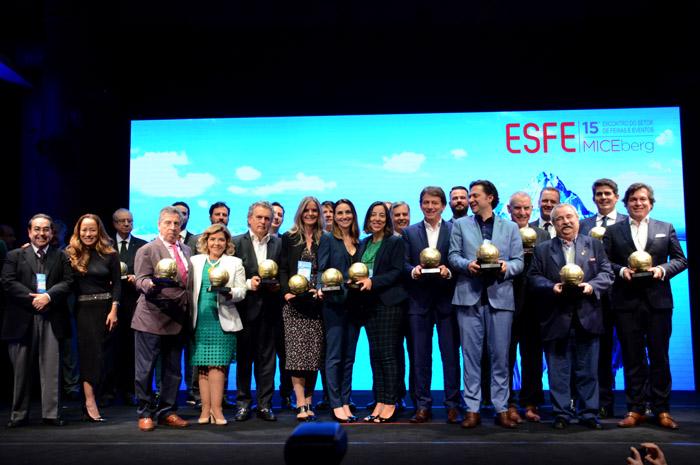 Evento homenageou os principais parceiros do setor de 2019