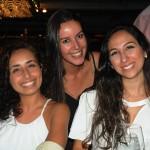Elisa Villela e Isabela Oliveira, da Rio Travel, com Taiane Bastos, da Trend