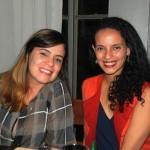 Evelyn Buarque e Marianna Dias, da Abreu