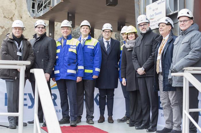 Cerimônia reuniu executivos da Costa Cruzeiros e do estaleiro Meyer Turku na Finlândia