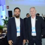 Fernando Donizeti, da Tack Turismo, e Gilberto Durante, da DSC Consultoria